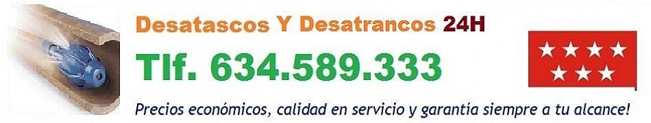 Desatascos Valdemoro